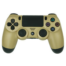 Sony Playstation 4 Dualshock PS4 Wireless Gun Yellow Gold Controller Refurbished