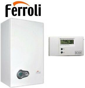 Caldaia condensazione 24 Ferroli Bluehelix Tech 25C classe A/A + cronotermostato