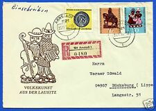 EAST GERMANY, (DDR), CIRCULATED FIRST DAY COVER, # 202