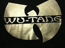 WU TANG Clan Sweatshirt GOLD LOGO! Medium - Rap RZA Method Man WuTang ODB NYMCMB