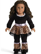 handmade DIY new set clothes for 18inch American girl doll party b411