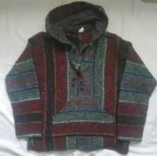 Molina M Poncho Pullover Sweater Hippie Hoodie Men Women