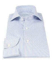 NEW Artigiani Napoli handmade striped shirt 42 (US 16 1/2) shirtmaker Kiton!