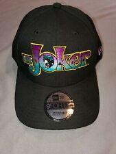 NEW ERA 9 FORTY DC VIN THE JOKER MENS SNAPBACK HAT BLACK 21198438