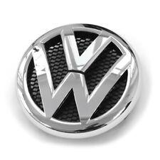 NEW Genuine VW AMAROK 2010-2017 Pare Choc Avant Grill Chrome Logo Emblème Badge