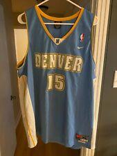 Men's Carmelo Anthony #15 Denver Nuggets Jersey XL Nike