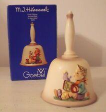 M J Hummel Goebel 1978 Annual Bell Figurine Let'S Sing 1st Edition Original Box