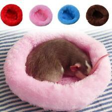 Warm Pet Dog Cat Calming Beds Comfy Round Fluffy Bed Nest Mattress Donut Pad New