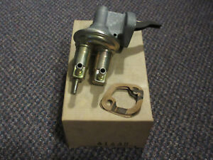41448 NOS Mechanical Fuel Pump M60000 1978 Dodge Omni Plymouth Horizon VW 1.7L