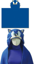 "Great Eastern Sonic the Hedgehog GE-34020 Sonic Head Hoodie Blanket 57"" x 41"""