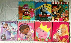 Mixed Character Medium Size Gift Bag with Tag - Size27x32x10cm