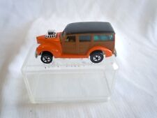 "HOT WHEELS BLACK WALL ""HiRAKERS"" ORANGE ""WOODY"" VAN 1979 HONG KONG"