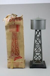 O scale vintage Marx Water Tower #0165
