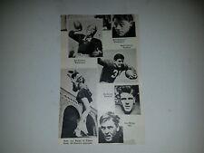 Buck Fawcett Ed Stamm Stanford University Don Willer USC 1942 Football Pictorial