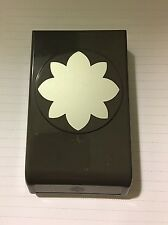 Stampin' Up! Large Flower MEDALLION paper punch flat locking style