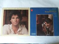 """B.J. Thomas Young and In Love 1969 and Best of Album 1980 Vinyl Record 12"""" LP"""