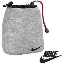 NEW Nike VALUABLES POUCH *GREY* SPORTS SWOOSH BAG MENS GOLF GYM SHOULDER WAIST