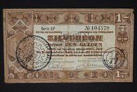 Netherland Germany occupation banknote WWII/WW2