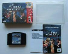 WWF No Mercy Nintendo 64 N64 Complete In Box CIB Game Authentic Elite NXT OEM #4