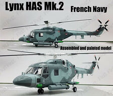 French Navy Lynx Mk.2 British military helicopter 1/72 no diecast Easy model
