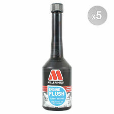 Millers Oils Engine Oil Flush / Solvent Free Engine Flush - 5 x 250ml