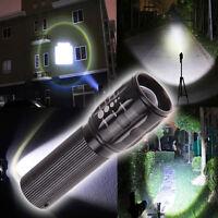 3 W  2000 Lumen  Zoomable LED  Flashlight Adjustable Focus Torch Light Lamp #P