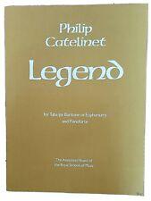 Philip Catelinet: Legend (for Tuba or Baritone or Euphonium & Piano)