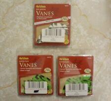 "3 (12 packs) Allen Pro-Series 2"" Vane 2 Green Camo #68550 & 1 White Camo #68557"