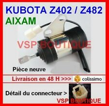 SOLENOID STOP MOTOR AIXAM KUBOTA Z402 / Z482 (adaptable)