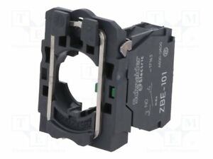 Genuine Schneider Electric- ZB5AZ101C / ZB5AZ101 -FIXING COLLAR + SINGLE CONTACT