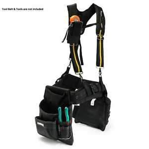 Work Suspenders Padded Suspension Rig Toolbelt Padded Suspenders Padded Rig Gear
