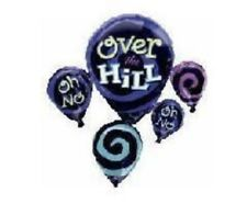 """Over The Hill 31"""" Balloon Birthday Party Decorations"""