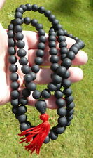 MONK Blessed PRAYER BEAD MALA REAL LEK NAM PEE THAI MAGIC STEEL POSITIVE ENERGY