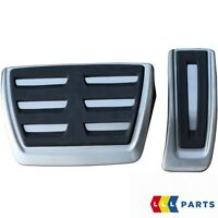 NEW GENUINE AUDI A4 A5 Q5 STAINLESS STEEL PEDAL COVERS AUTOMATIC RHD 8K2064205