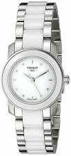 NEW Tissot T-Trend Ladies Ceramic Diamond Watch - T0642102201600