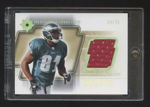 2004 ULTIMATE COLLECTION TERRELL OWENS GOLD GAME JERSEY #ED 24/25 MINT RARE HOF