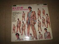 ELVIS PRESLEY GOLDEN RECORDS VOLUME 2 VINYL LP ALBUM,NEAR MINT,SILVER SPOT