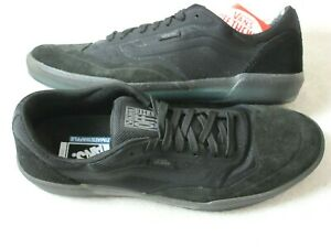 Vans Men's Ave Anthony Van Engelen Pro Skate shoes Black Smoke Green size 9.5
