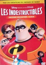 DVD du dessin animé LES INDESTRUCTIBLES - 2 DVD - Pixar - Walt Disney