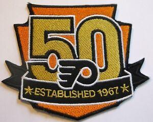 Philadelphia Flyers 50 Year Anniversary Jersey Patch~1967-2017~NHL~Ships FREE