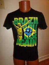 UFC Anderson Silva Brazil Will Rise Again Black Shirt Sz S The Spider