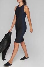 New Athleta EN ROUTE sleeveless stellar Dress XS $118 Black navy Colorblock CUTE