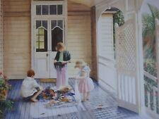 Gordon Hanley, A Day to Pretend, Large Art Print, Children at Play.