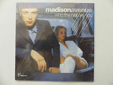 CD Single MADISONAVENUE Who the hell are you 5099766945910
