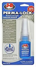 JB J-B Weld 24213 - 13ml Pk Perma-Lock - Medium Strength Threadlocker - 1st Post