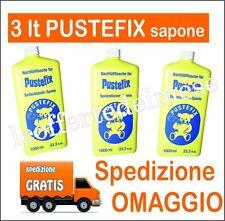 3 litri sapone Pustefix bolle di sapone (3 bottiglie da 1 litro cada una) profes