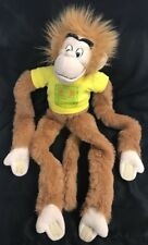 "Disney On Ice Hanging Monkey Plush Long Arm Jungle Book Adventure Bandar-log 26"""