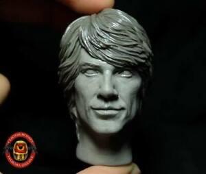 1/6 Scale Custom BON JOVI Head Sculpt Painted