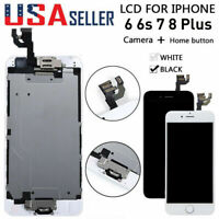 For iPhone 6 5s 6S 7 8 Plus LCD Screen Replacement Digitizer Display Lot Battery