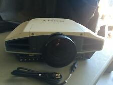 SONY VPL-FX51 LCD PROJECTOR, SHORT THROW LENS 0.8!! WORKS GREAT!! CLEAR IMAGE!!